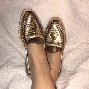 Shoes - Metallic Huaraches, 7